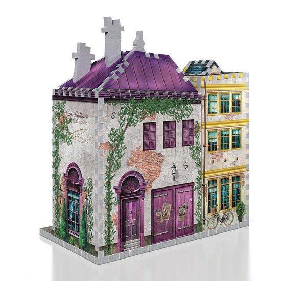 Madam Malkin's and Florean Fortescue - Slug and Jiggers - Wrebbit 3D Puzzel - Harry Potter - 290 Stukjes - wrebbit