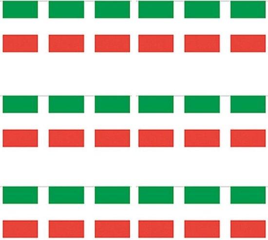 Bol Com 3x Papieren Slinger Italie 4 Meter Italiaanse Vlag Supporter Feestartikelen