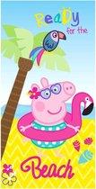 Peppa Pig Beach microfiber beach towel