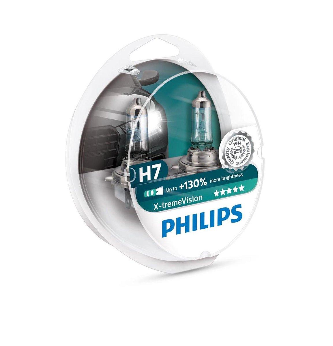 Philips X-tremeVision 12972XV+S2 autolamp H7 55 W Halogeen