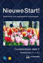 Boek cover Nieuwe Start! Nederlands voor laagopgeleide anderstaligen Deel 2 / A1-A2 van