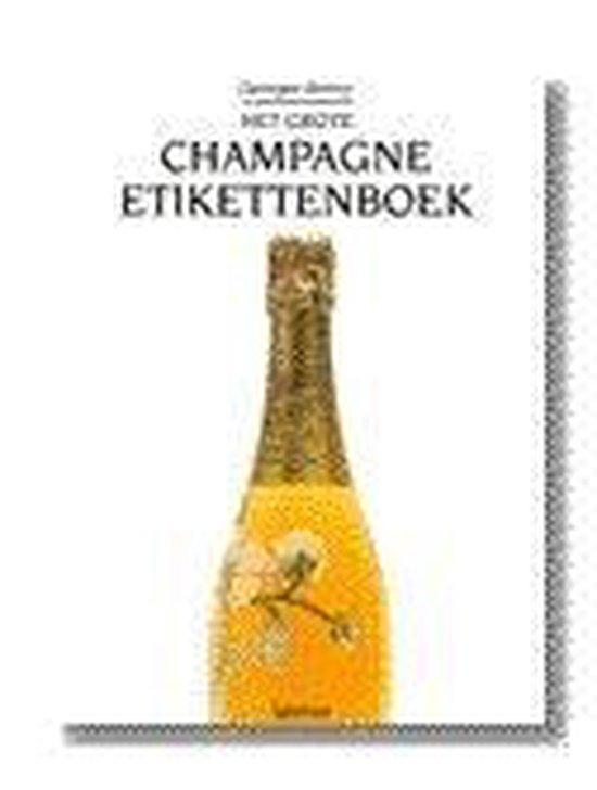 Grote champagne-etikettenboek, het