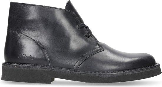 Clarks - Herenschoenen - Desert Boot 2 - G - blk hishine lea - maat 8,5
