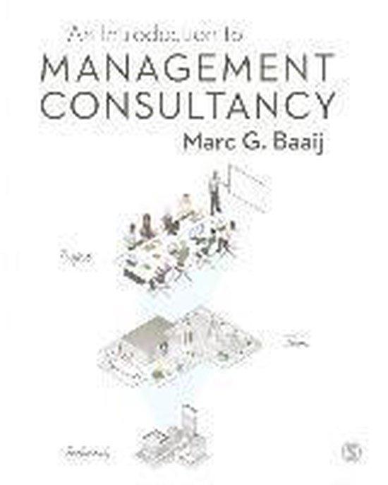 Boek cover An Introduction to Management Consultancy van Marc G. Baaij (Paperback)