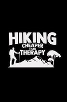 Hiking cheaper than therapy