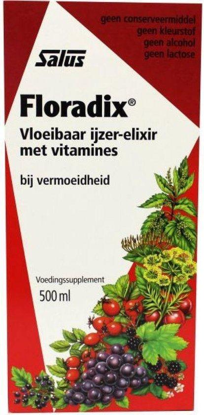 Salus Floradix Vita Kruidenelixer - 500 ml - Voedingssupplement
