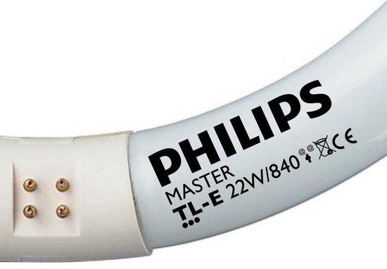 Philips Cirkel TL G10q - 22W/840 - neutraal wit - 4-p
