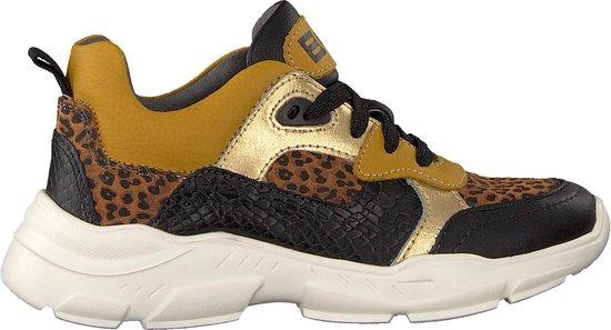 Braqeez Jongens Lage sneakers Renee Run - Zwart - Maat 32