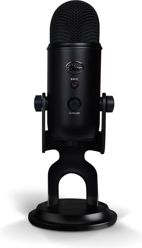 Blue Microphones Yeti Streaming Microfoon | Blackout