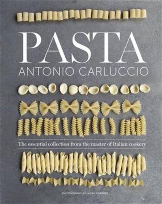 Boek cover Pasta van Antonio Carluccio (Onbekend)