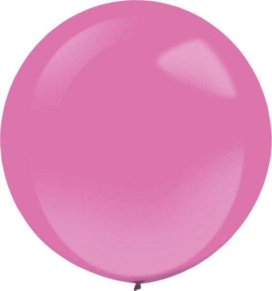 Amscan Ballonnen 60 Cm Latex Fuchsia 4 Stuks