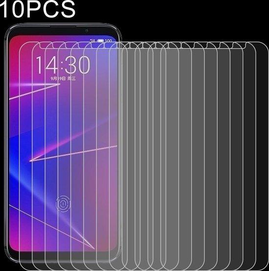 Let op type!! 10 PCS 0 26 mm 9H 2.5D explosieveilige getemperd glas Film voor Meizu 16 X