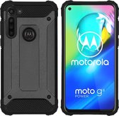 iMoshion Rugged Xtreme Backcover Motorola Moto G8 Power hoesje - Zwart