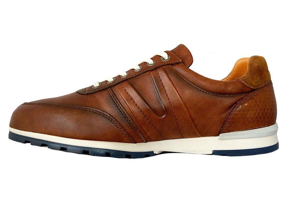 Van Lier Heren Sneakers - Cognac - Maat 40 Sneakers