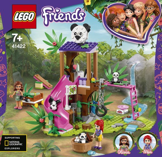 LEGO Friends Panda Jungle Boomhut - 41422