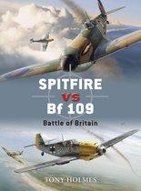 Boek cover Spitfire vs Bf 109 van Tony Holmes