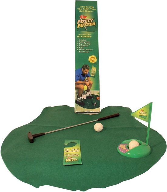 Out of the Blue Potty Putter - Toilet Golf - Set - Out of the Blue