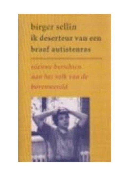 Ik deserteur van een braaf autistenras - Birger Sellin | Readingchampions.org.uk