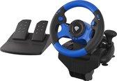 Genesis Racestuur Seaborg 350 voor PC en console - Zwart | Blauw