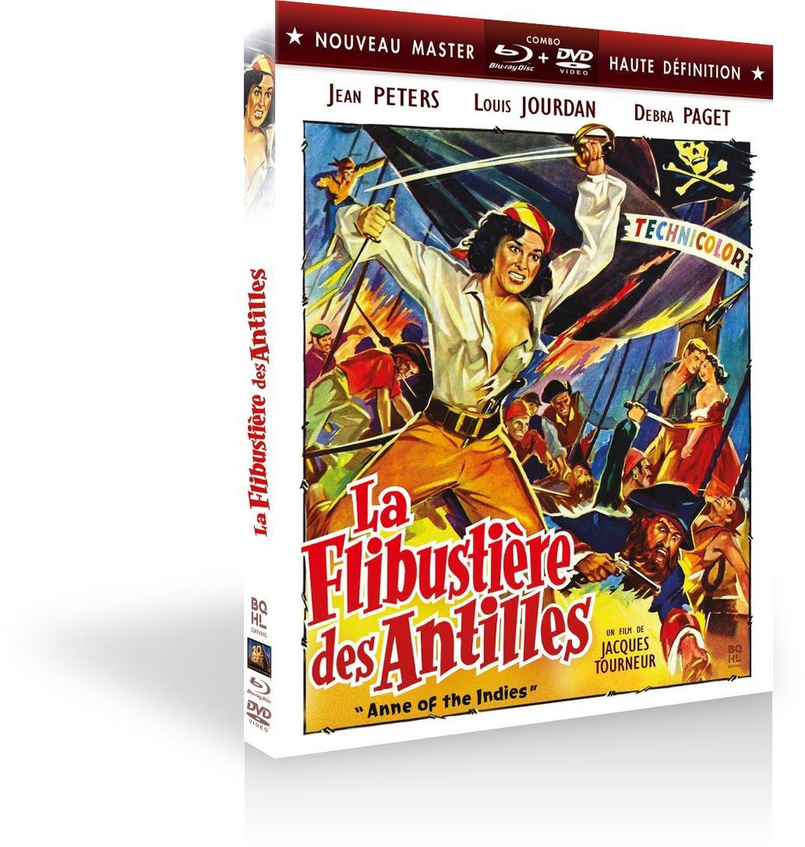 Anne of the Indies (1951) - Combo Blu-Ray + DVD-