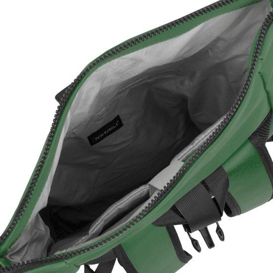 New Rebels Mart Waterafstotende Rolltop Laptop Rugzak - 15,6 inch - Groen - New Rebels