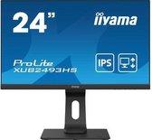 "iiyama ProLite XUB2493HS-B4 computer monitor 61 cm (24"") 1920 x 1080 Pixels Full HD LED Zwart"