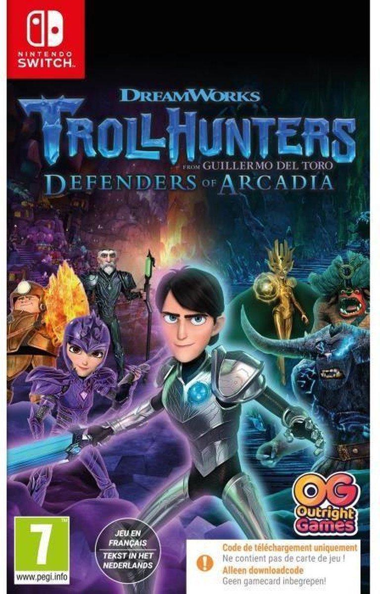 Troll Hunters – Protectors of Arcadia Game Switch (code in de doos)