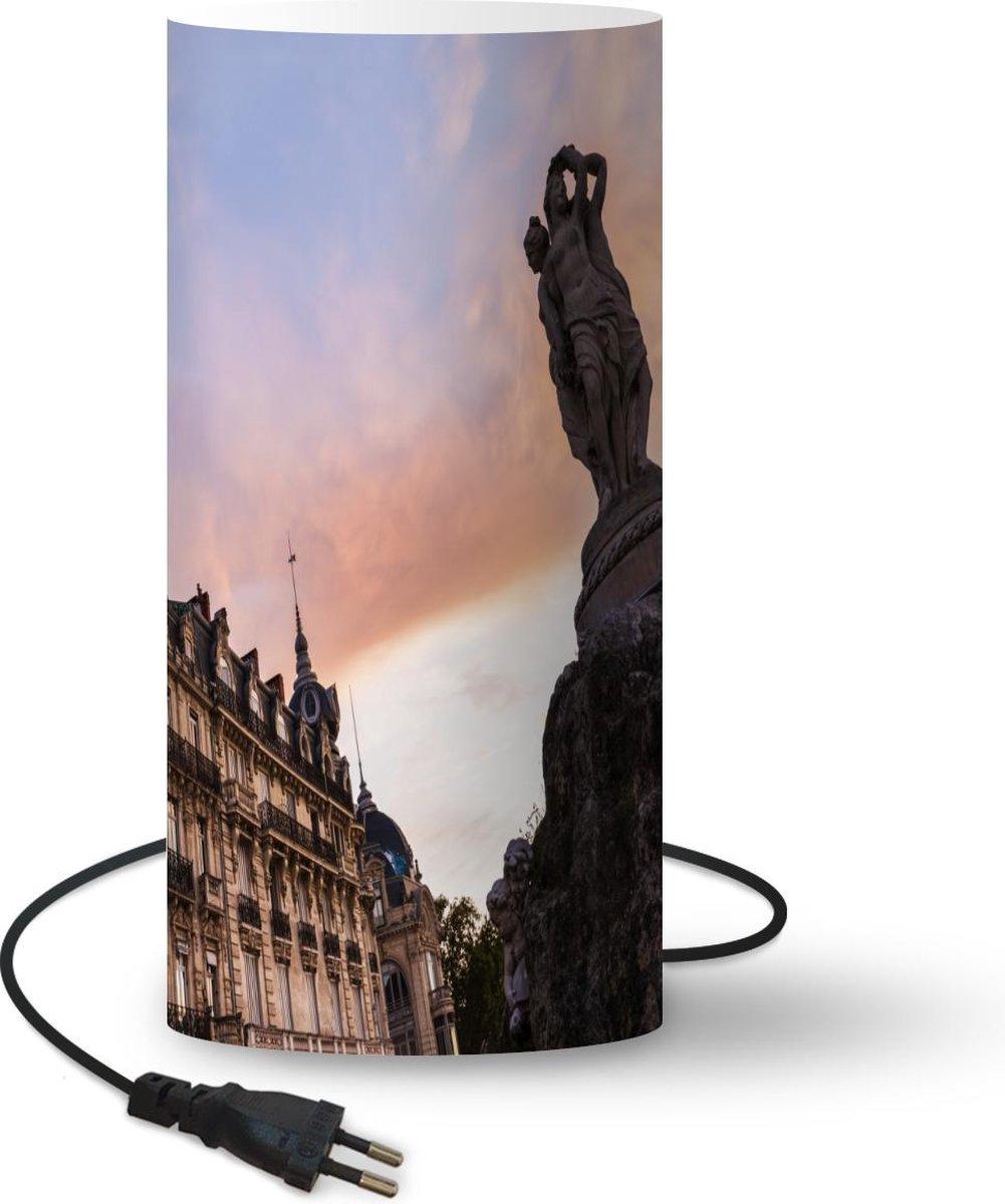 Lamp Montpellier - Frankrijk - Fontein - 33 cm hoog - Ø16 cm - Inclusief LED lamp