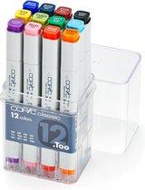 Copic Classic set 12 kleuren basis kleuren