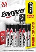 Batterijen Max Power Energizer LR06 AA (6 uds)