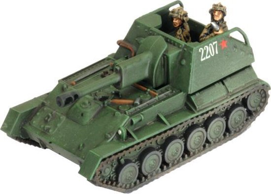 Thumbnail van een extra afbeelding van het spel SU-76 Light SP Battery (Plastic)