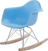 Design schommelstoel RAR Junior Lichtblauw