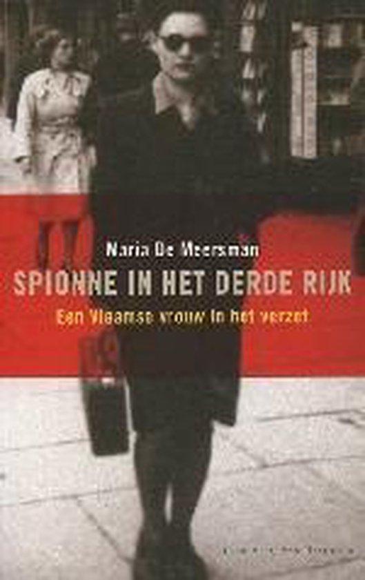 Spionne In Het Derde Rijk - Maria De Meersman   Readingchampions.org.uk