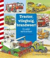 Zoekboeken  -   Tractor, vliegtuig, brandweer!