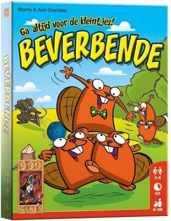 Afbeelding van het spel Beverbende - Kaartspel