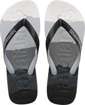 Havaianas Top Logomania Heren Slippers - Gradient Black - Maat 43/44