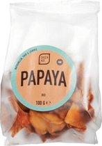 Papaya (ongezoet) GreenAge - Zakje 100 gram - Biologisch