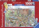 Bol.com-Ravensburger puzzel Fleroux Amsterdam - Legpuzzel - 1000 stukjes-aanbieding