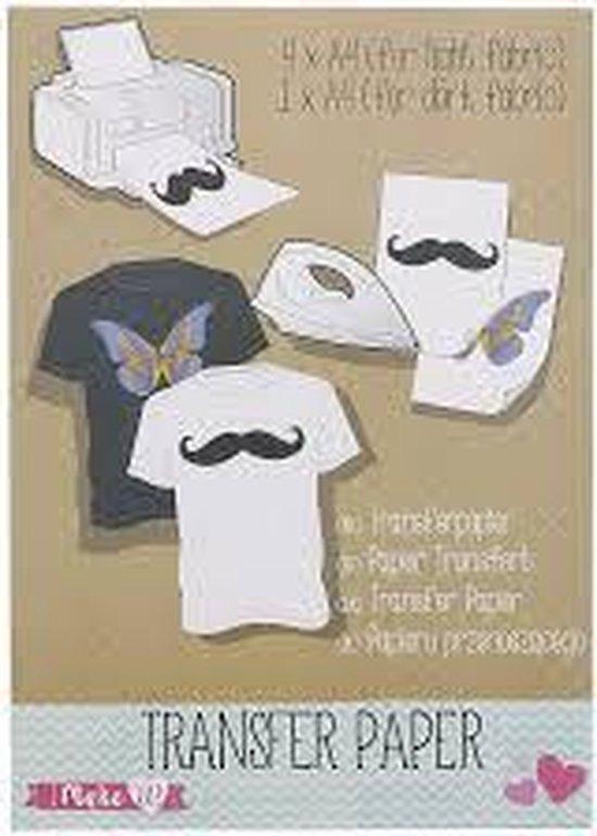 Afbeelding van Transfer papier voor textiel