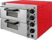 Afbeelding van KuKoo Pizza Oven - Elektrisch - Horeca - 2 Kamers - Pizzaoven