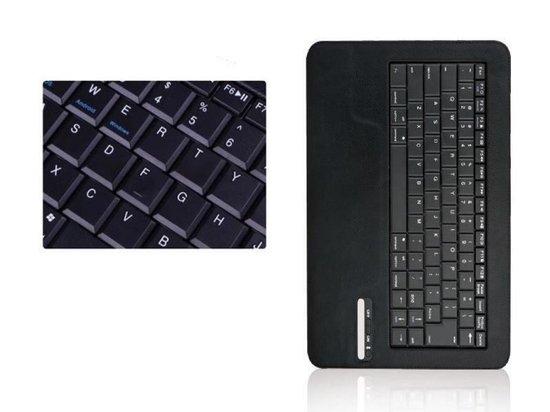 10 Inch Bluetooth Keyboard Case, Toetsenbord Deluxe Universeel, Zwart, merk i12Cover