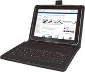 Universeel 10 Keyboard Case, QWERTY Toetsenbordhoes, Zwart, merk i12Cover