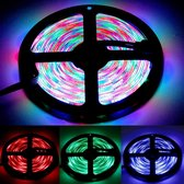 Epoxy Waterproof Rope Light, Lengte: 5 m, RGB Light 2835 SMD LED, 60 LED / m, DC 12V