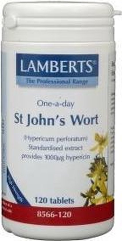 Lamberts St John's Wort One-a-day - 120 Tabletten - Voedingssupplement