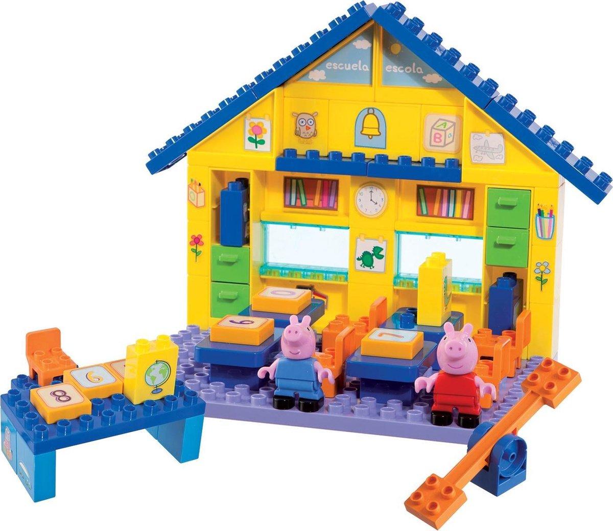 BIG Bloxx Peppa Pig Peppa's School - Constructiespeelgoed - BIG
