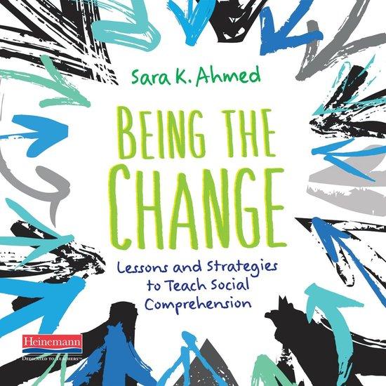 Boek cover Being the Change van Sara K. Ahmed (Onbekend)