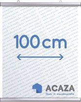 Poster Ophangsysteem - Poster Hanger - Aluminium Klik Systeem - 100 cm