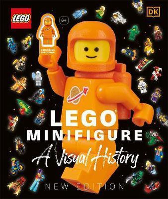 Boek cover LEGO (R) Minifigure A Visual History New Edition van Gregory Farshtey (Hardcover)