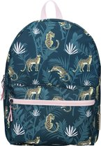 Milky Kiss Stay Cute In The Jungle Rugzak - 13,5 l - Navy blauw