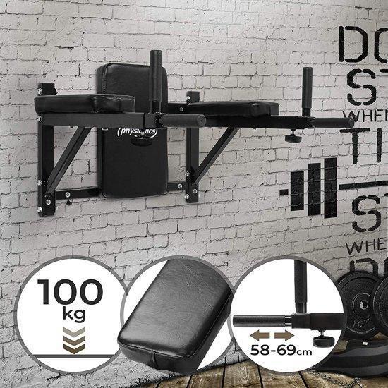 Dipstation / krachtstation / buiktrainer - Max. 100kg
